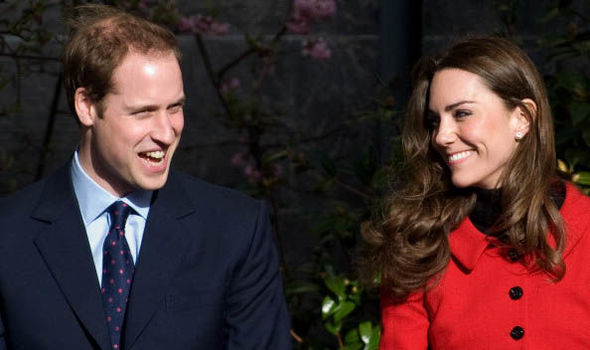 Kate Middleton and Prince William met at the University of St Andrews in 2001 Image GETTY