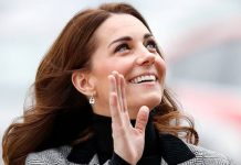 Kate Middleton just rocked an updo with a twist Photo C GETTY
