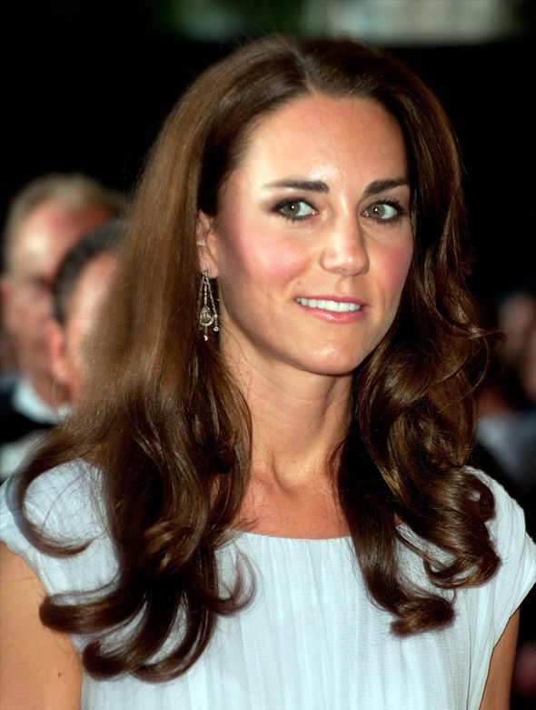 Kate Middleton latest news Nods to the Queen while wearing Jenny Packham dress Image GETTY