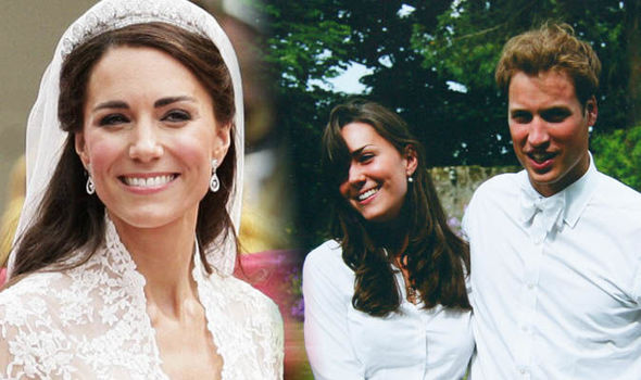 Kate married Prince William in a lavish ceremony at Westminster Abbey in 2011 Image GETTY