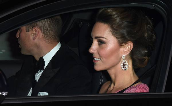 Kate Middleton sparkles in pink at Prince Charless 70th birthday party at Buckingham Palace Photo C GETTY