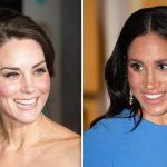 Kate and Meghan have both previously worn the earrings Image GETTY