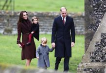 Kate and Prince William with Prince George and Princess Charlotte Image GETTY