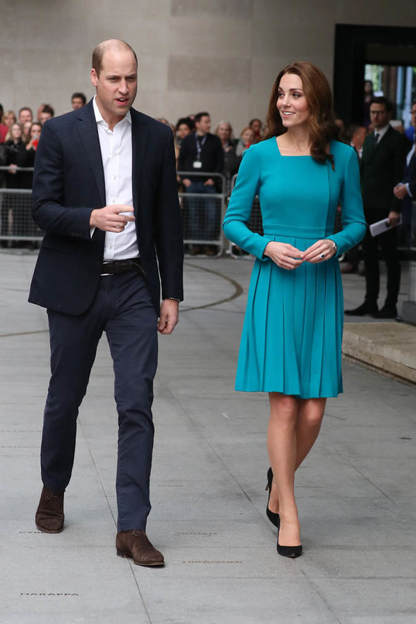 Kate and William discussed the dilemma as they stepped out for an engagement at the BBC Image GETTY