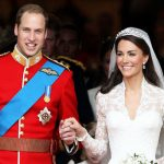 Kate and William on their wedding day Image GETTY