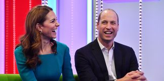 Kate and William paid a visit to the BBC Photo C GETTY