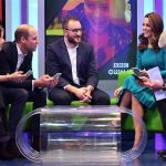 Kate and William visit the BBC to see the work they have done for Prevention of Cyberbullying Image REUTERS