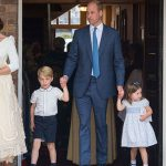 Kate and William with children George Charlotte and Louis Image GETTY