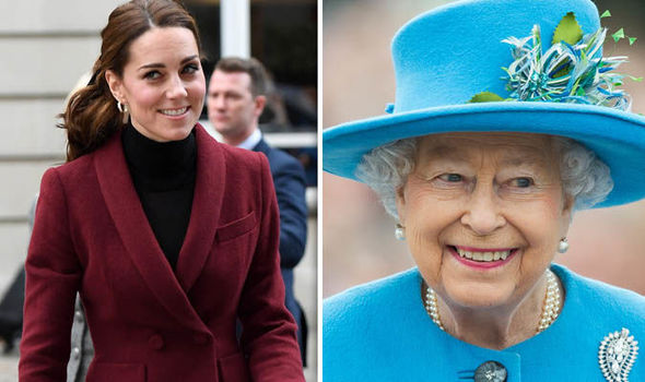 The Royals wanted Kate to wear her hair up Image GETTY