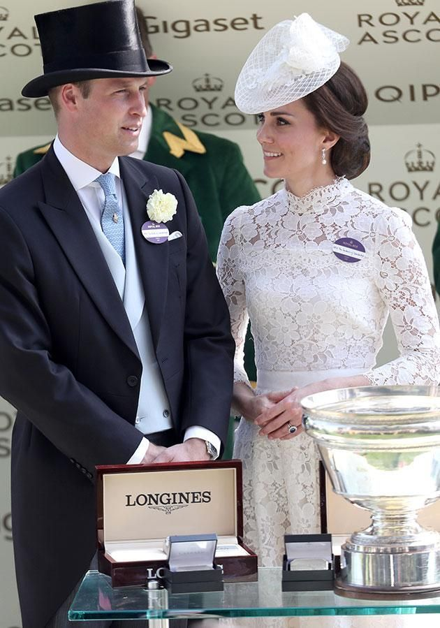 Kate is referred to as the Duchess of Cambridge which is a higher rank than a princess Source Getty
