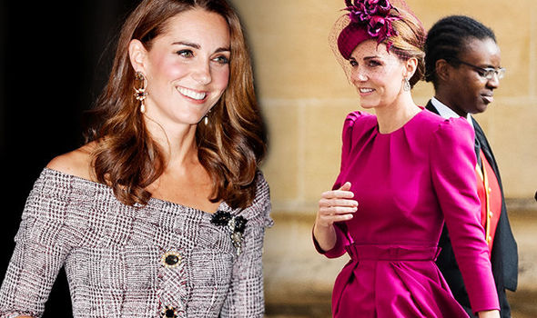 Kate is taking a more adventurous twist with her wardrobe with brighter colours and bolder cuts Image GETTY