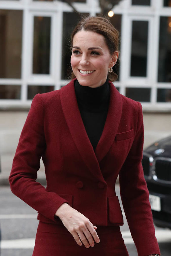 Kate is known for choosing outfits that reminds of the iconic style of Princess Diana Image GETTY
