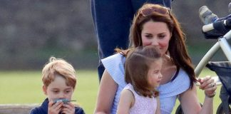 Kate the Duchess of Cambridge is often pictured being hands on with her children Image GETTY