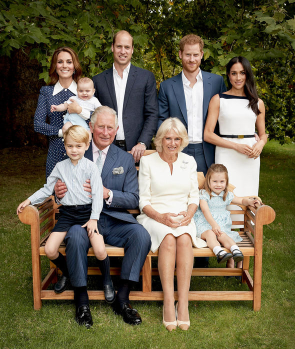 Lovely new pictures were released for Charles's milestone birthday Image GETTY