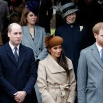 Meghan Markle Christmas traditions Meghan spent Christmas with the Royal Family in 2017 Image Getty