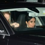 Meghan Markle and Prince Harry follow Kate and William into Buckingham Palace for Charles birthday Image PA