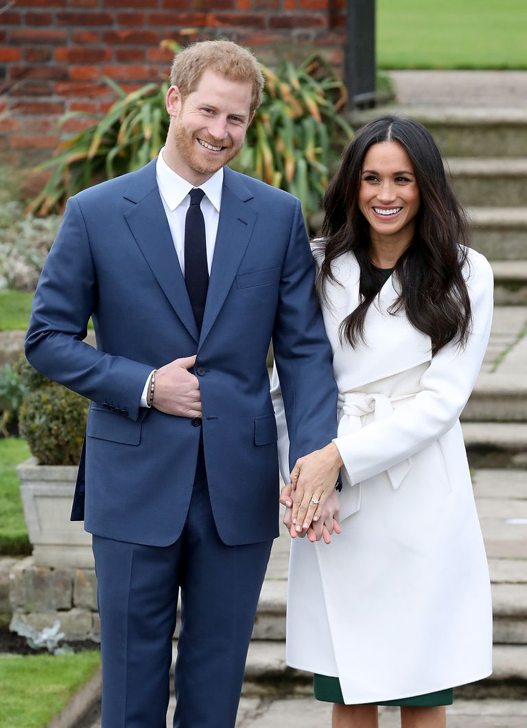 Almost one year ago on November 27 Kensington Palace announced that Meghan Markle and Prince Harry were engaged Photo C GETTY