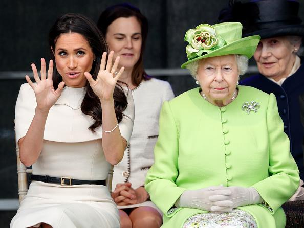 Meghan Markle and the Queen reportedly had a huge pre wedding argument Photo C GETTY