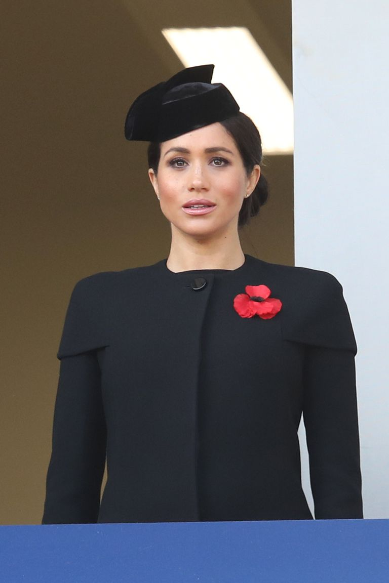 Meghan Markle at Rememberance Day Photo C GETTY IMAGeS