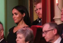 Meghan Markle chose to wear a cheap and cheerful LBD for the Royal British Legion Festival of Remembrance Photo Getty