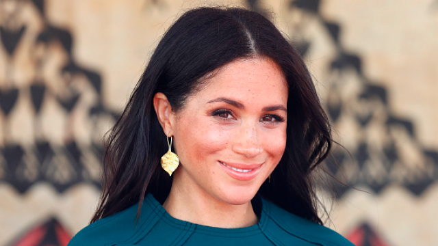 Meghan Markle had a major wardrobe mishap today and still looked UNREAL Image Getty