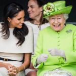 Meghan Markle has become close to the Queen this year Image GETTY