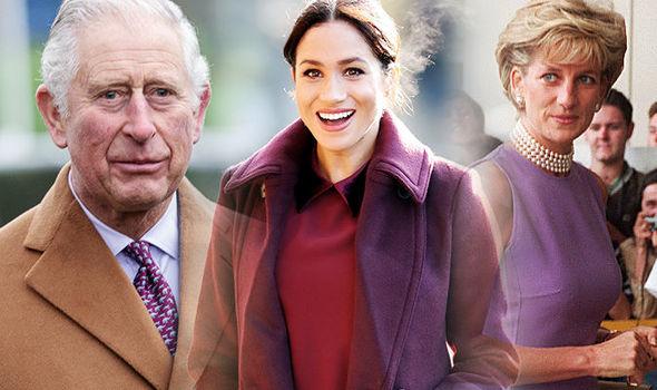 Meghan Markle has good relationship with Prince Charles Robert Jobson has said Image GETTY