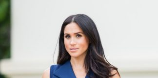 Meghan Markle has previously said she wouldn't wear a Victoria Beckham dress Photo Getty