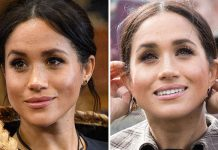 Meghan Markle manages to keep her skin radiant and glowing at all times Image Getty