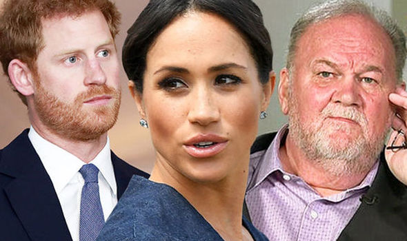 Meghan Markle news The Duchess baby wont mend her family feud but there is hope for her father Image GETTY
