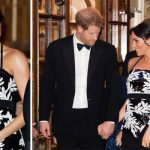 Meghan Markle pregnancy update The Duke kept a watchful eye on his pregnant wife Image Getty