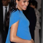 Meghan Markle pregnant Meghan could start her maternity leave a month before giving birth Image Getty