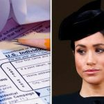 Meghan Markle tax The Duchess is facing a tax nightmare from the US government Image GETTY