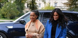 Meghan Markles mum Doria Ragland could be on her way to move to the UK Image GETTY