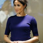 Meghan Markles pregnancy was announced on October 15 Image GETTY