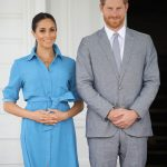 Meghan and Harry are expecting their first child Image GETTY