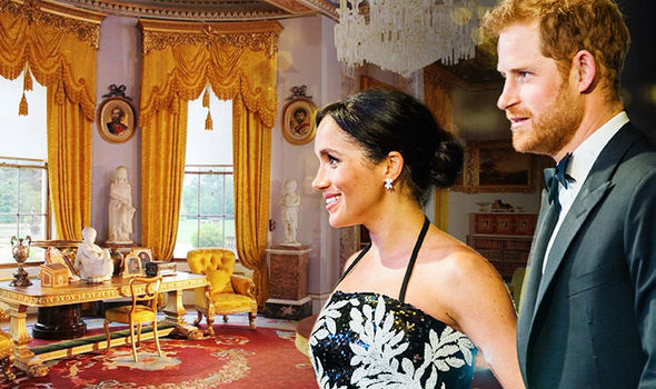 Meghan and Harry are set to move into Frogmore Cottage Image GETTY