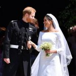 Meghan and Harry wed in May this year at St Georges Chapel Image GETTY