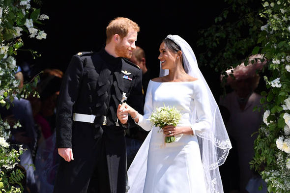 Meghan was a very different royal bride to be than Kate Sarah and Diana Image GETTY