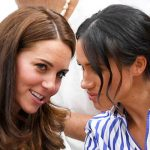 Meghan and Kate at day twelve of the Wimbledon Tennis Championships Image GETTY 1