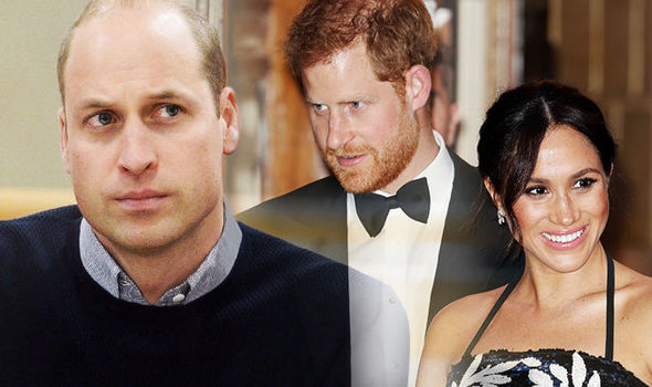 Meghan and Prince Harry do not want to live next to Prince William and Kate anymore Image GETTY
