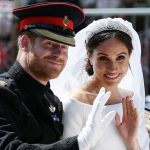 Meghan and Prince Harry tied the knot in May Source Getty