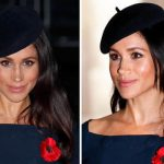 Meghan appears to have added shorter layers to her hair Image GETTY