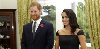 Meghan gave a speech to celebrate the 125th anniversary of women's suffrage in New Zealand Image GETTY