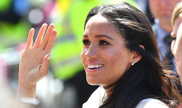 Meghan learned to withstand criticism Image GETTY