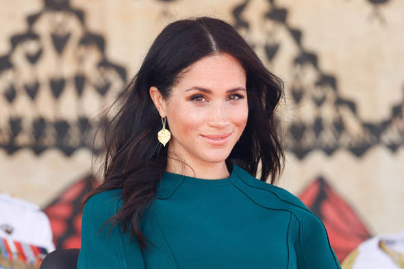 01 Meghan appears to have added shorter layers to her hair Image GETTY