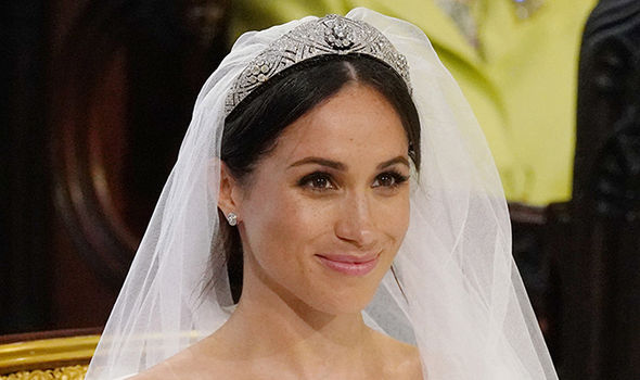 Meghan sported an utterly perfect skin at her wedding but months of perfecting were involved Image Getty
