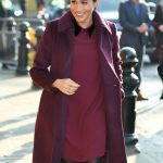 Meghan stepped out for an engagement on Wednesday Image GETTY