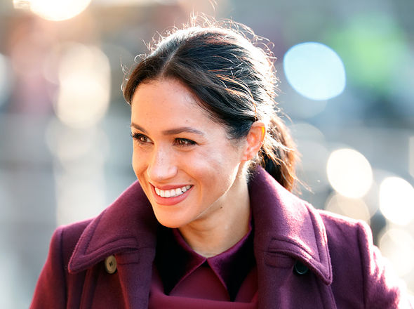 Meghan will spend her first Christmas at Sandringham as an expectant mother Image GETTY