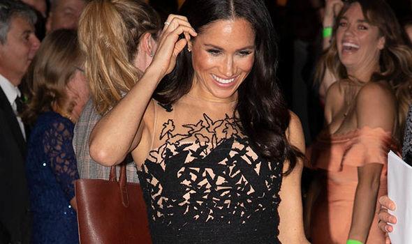 Meghan wore an Oscar de la Renta in Australia Image GETTY